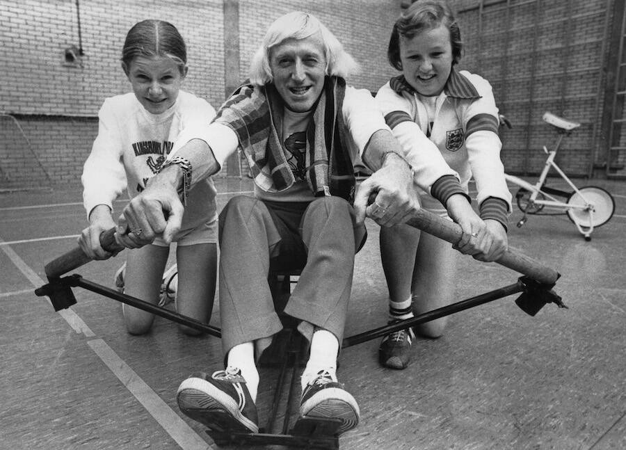 Jimmy Savile With Children