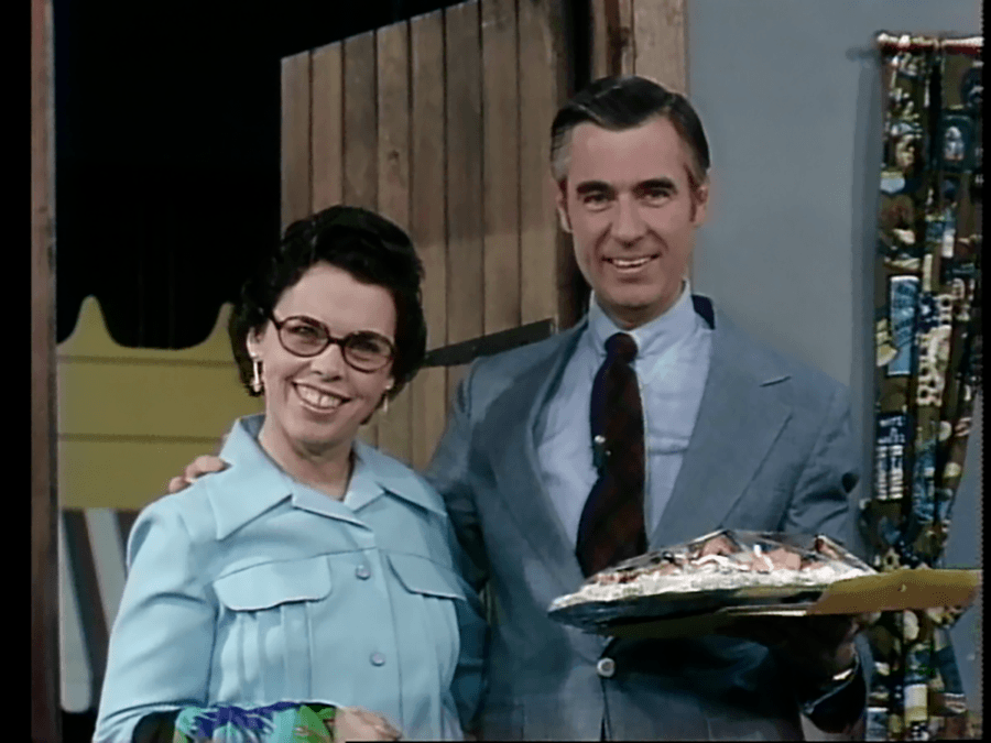Joanne Rogers And Mister Rogers