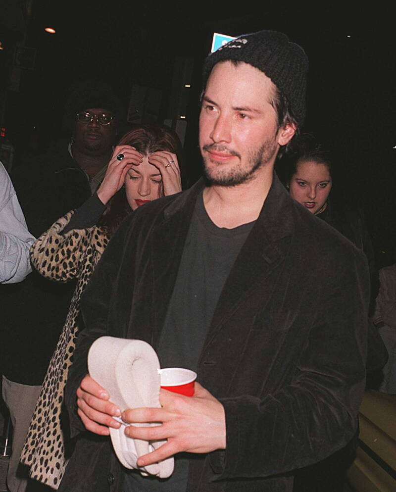 Keanu Reeves Outside The Viper Room