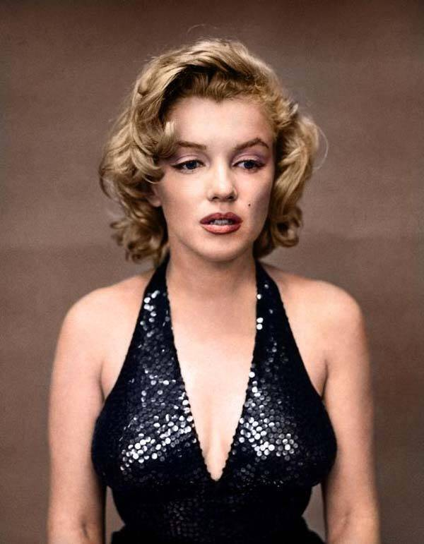 Colorized Photos Marilyn Monroe