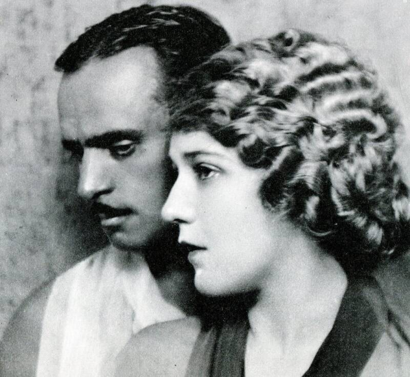 Mary Pickford With Douglas Fairbanks