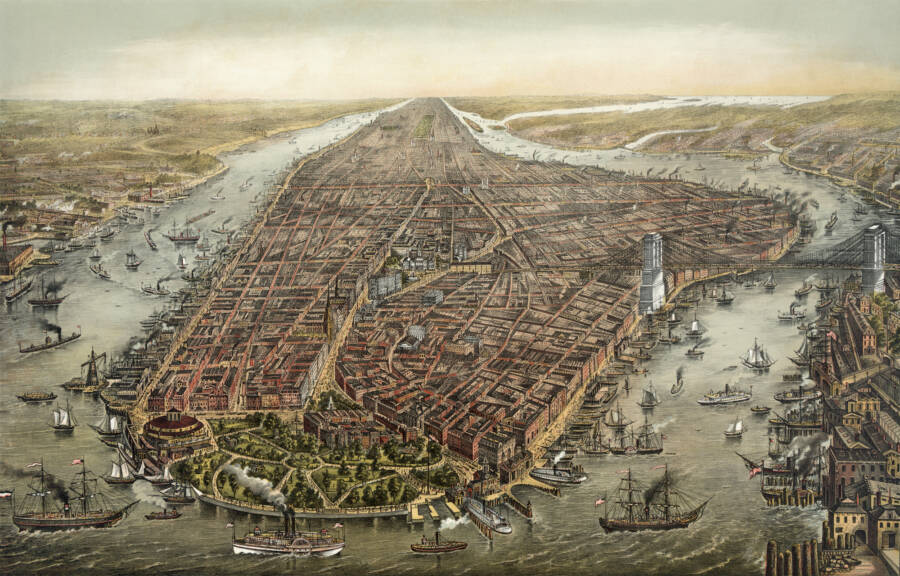 New York City In 1873