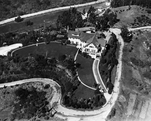 Aerial View Of Pickfair In 1920