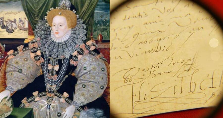 Queen Elizabeth I's Sloppy Handwriting Gave Her Away As The Unknown Translator Of A Roman Text