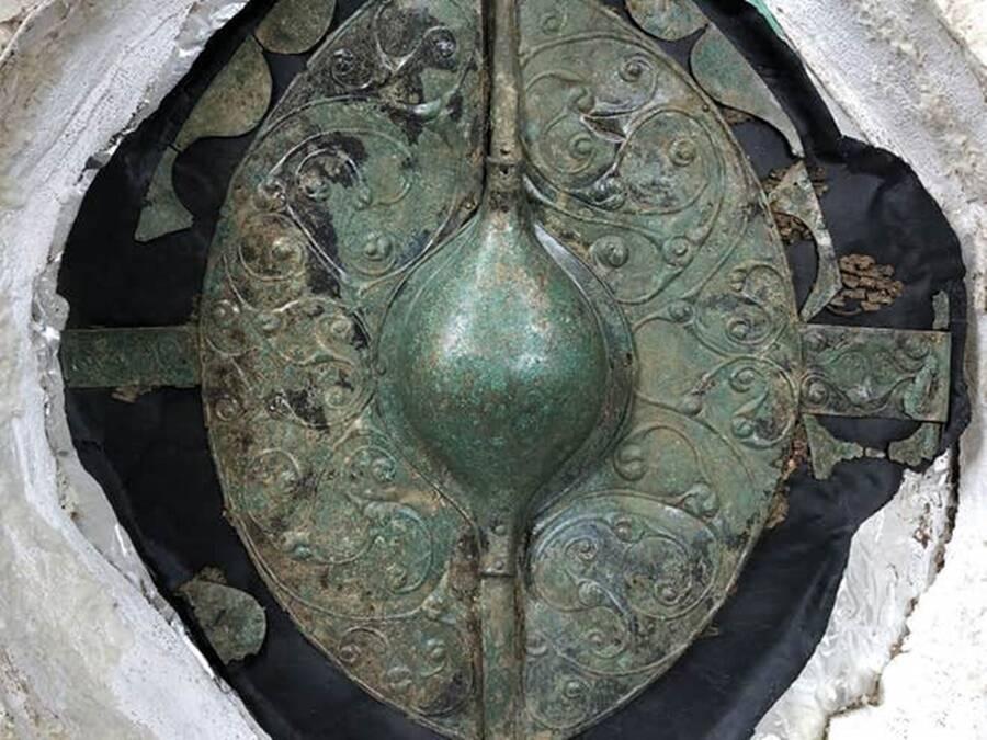 Rare Bronze Shield