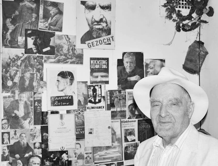 Richard Klinkhamer In His Home