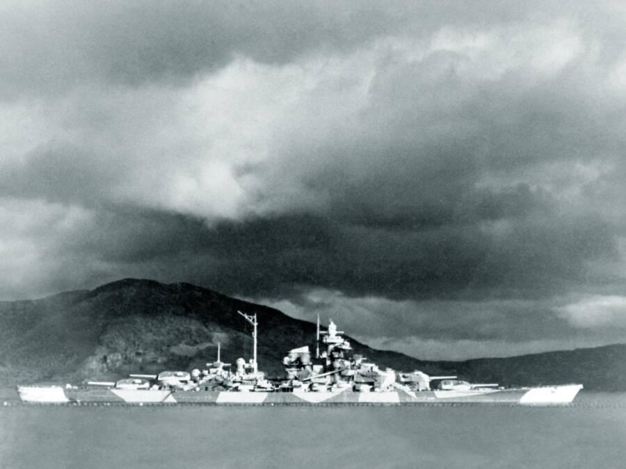 Tirpitz Camoflage