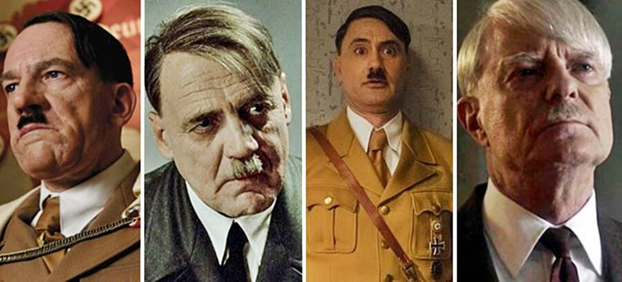 Various Actors In Hitler Movies