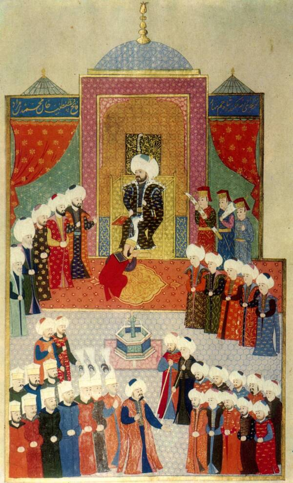 Accession of Mehmed II