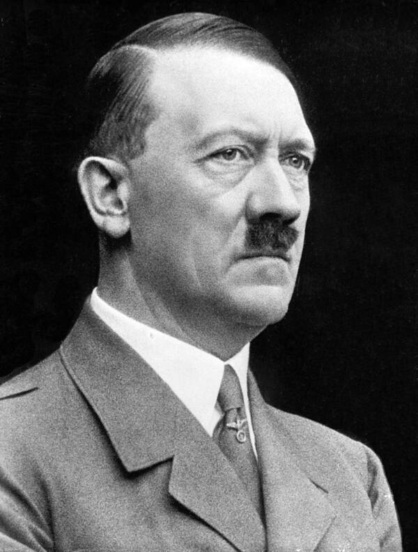 Adolf Hitler Official Portrait