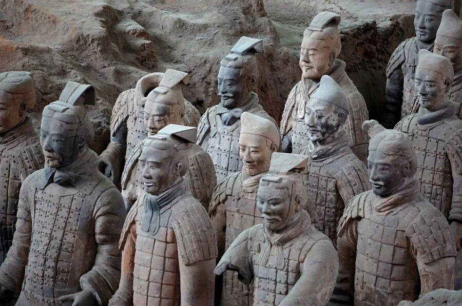 Ancient Chinese Terracotta Warriors