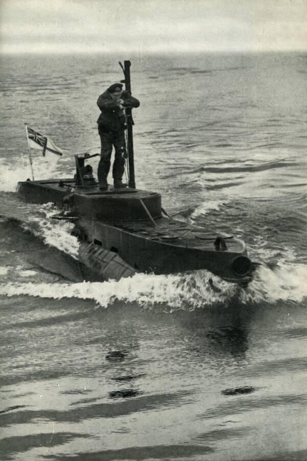 British X-Craft Midget Submarine