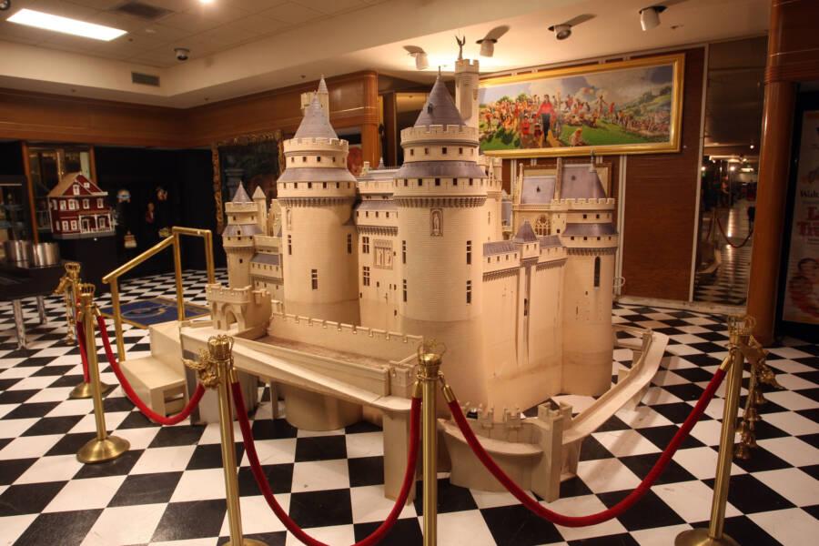 Castle Replica At Neverand Auction