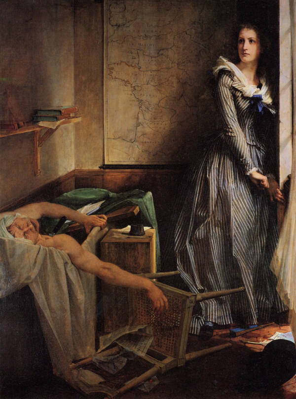 Charlotte Corday And Marat