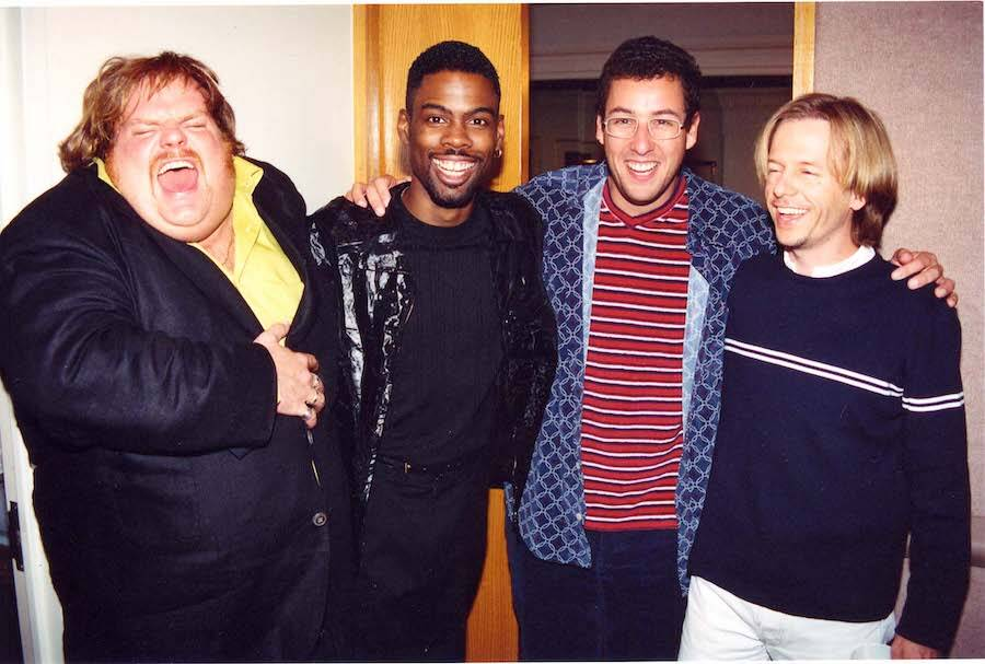 Chris Farley With Friends