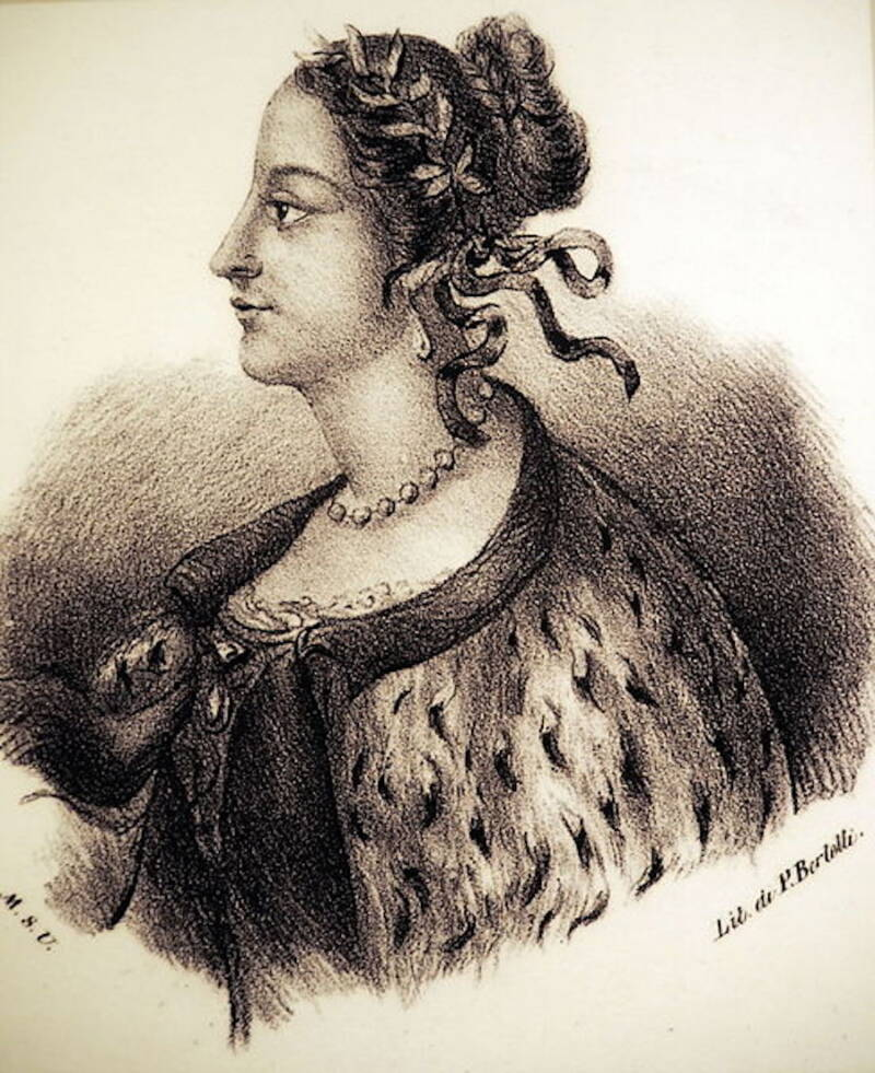 Depiction Of Laura Bassi