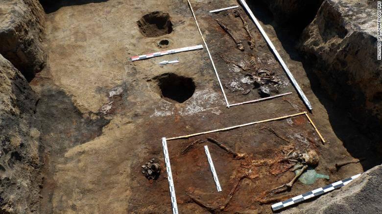 Devitsa V Cemetery Dig Site