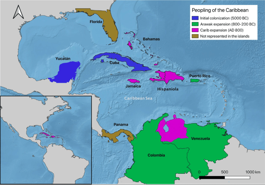 Early Settlements Of The Caribbean