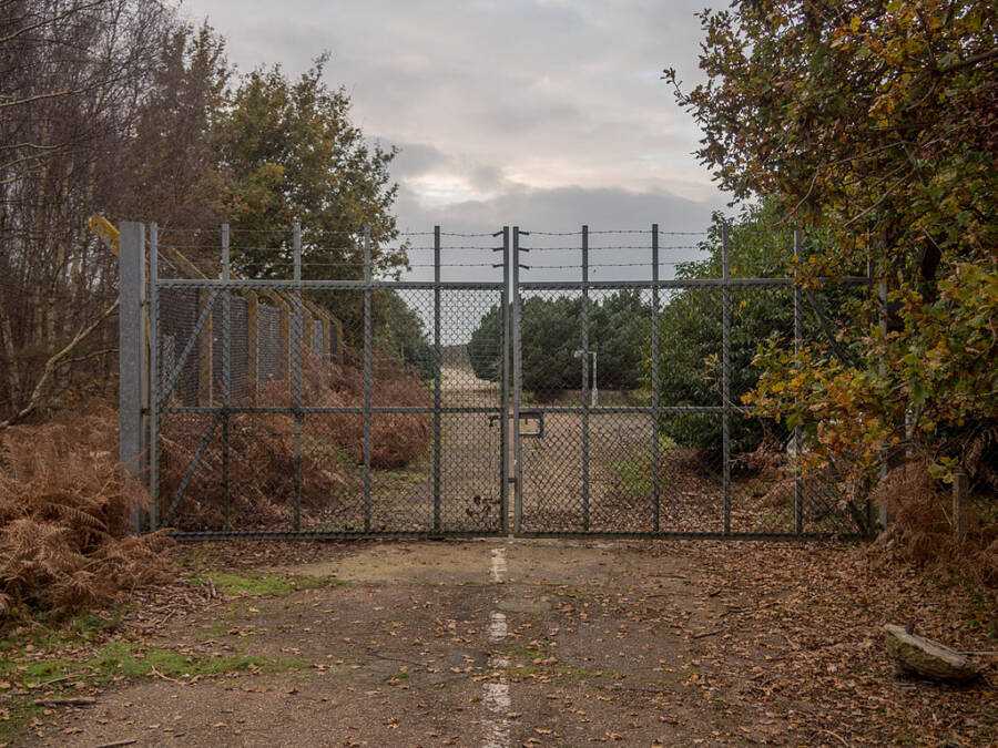 East Gate Of Woodbridge Base