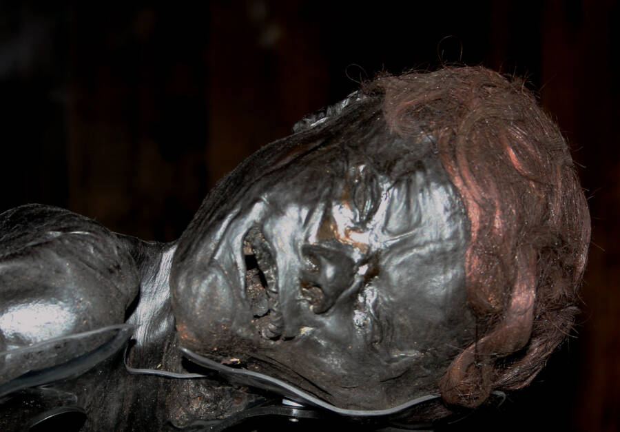 Facial Expression Of The Grauballe Man