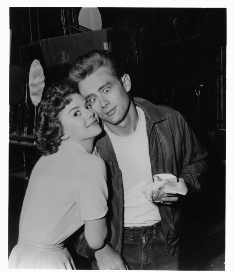 Funny Face James Dean And Natalie Wood