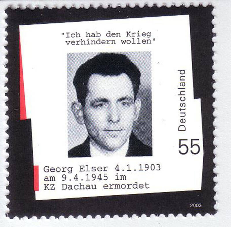 Georg Elser Postage Stamp