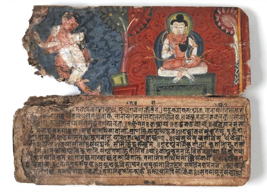 Ancient Kamasutra Text