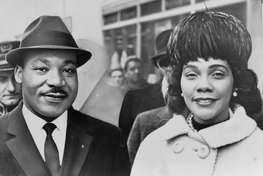 Martin And Coretta Scott King