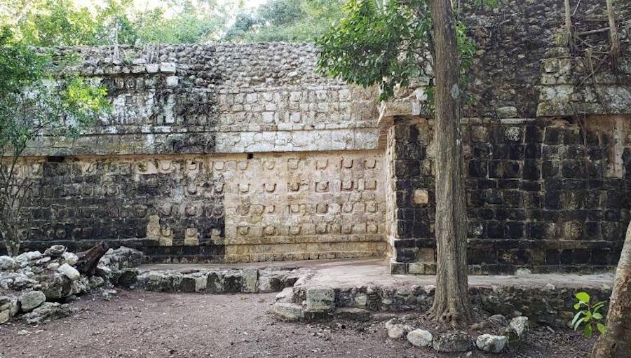 Mayan Palace Wall