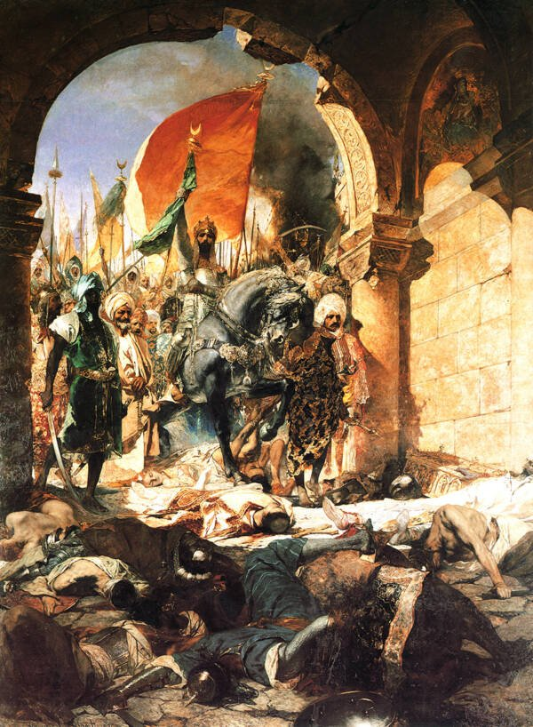 Mehmed Ii Enters Constantinople