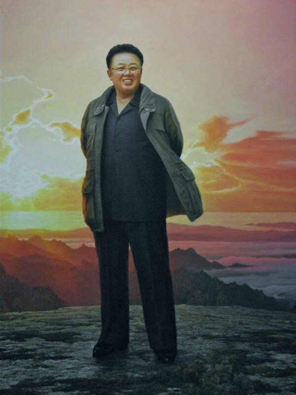 Painting Of Kim Jong Il