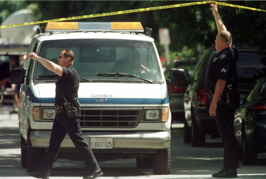 Phil Hartman Murder Crime Scene