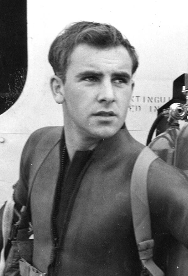 Pitsenbarger In A Wetsuit