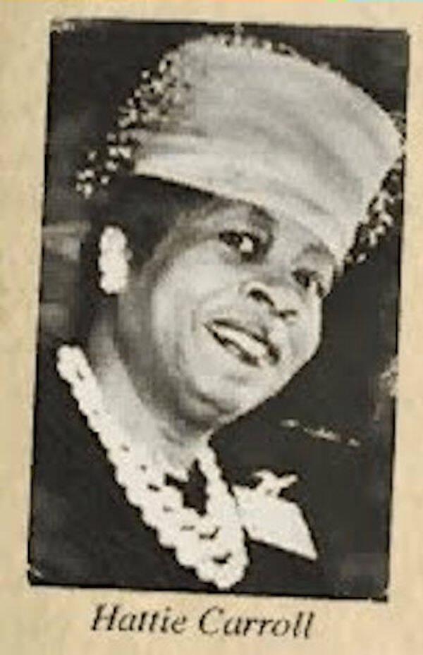 Portrait Of Hattie Carroll