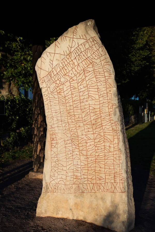 Inscriptions On The Rok Runestone