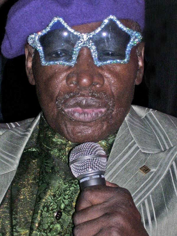 Rudy Ray Moore In Sunglasses