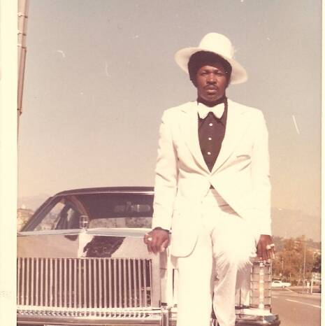 Rudy Ray Moore White Suit