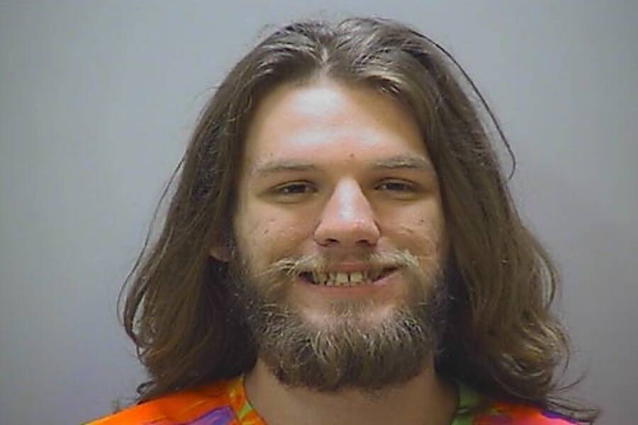 Spencer Boston's Mug Shot
