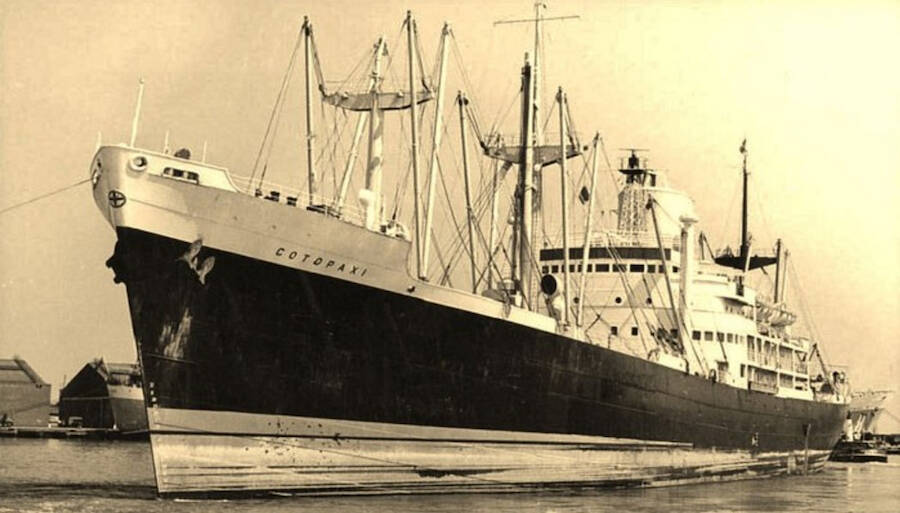 Ss Cotopaxi Before Departure