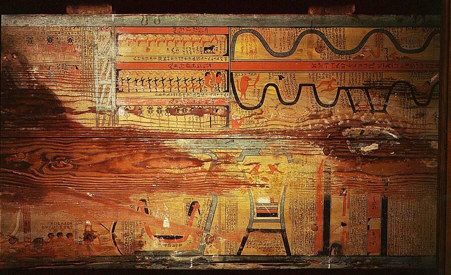Illustration Of The Egyptian Underworld
