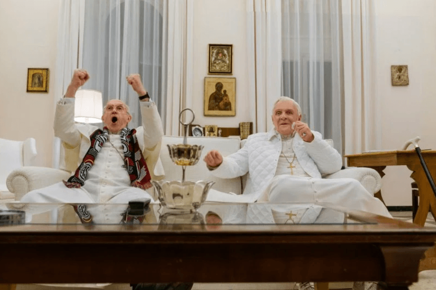 The Two Popes Movie Still