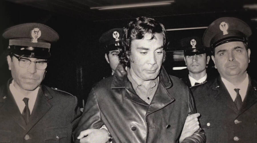 Tommaso Buscetta Led By The Police