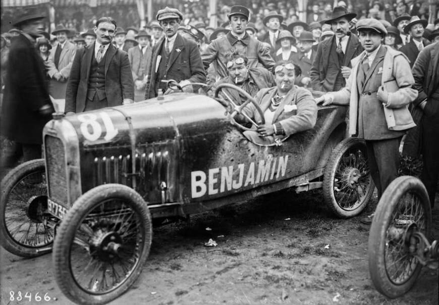 Violette Morris In A Benjamin Car