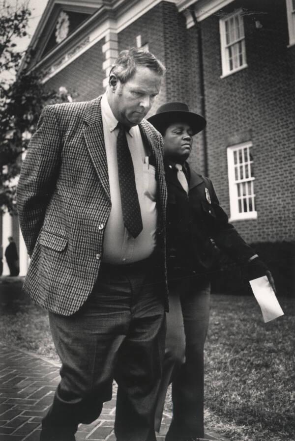 William Zantzinger At A Courthouse