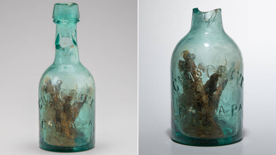 Witch Bottle With Top And Without