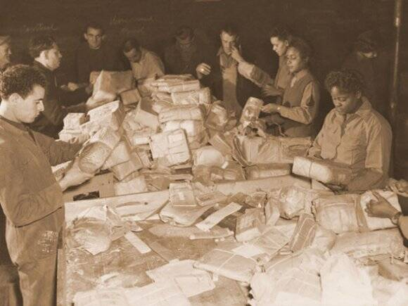 WWII Mail Unit