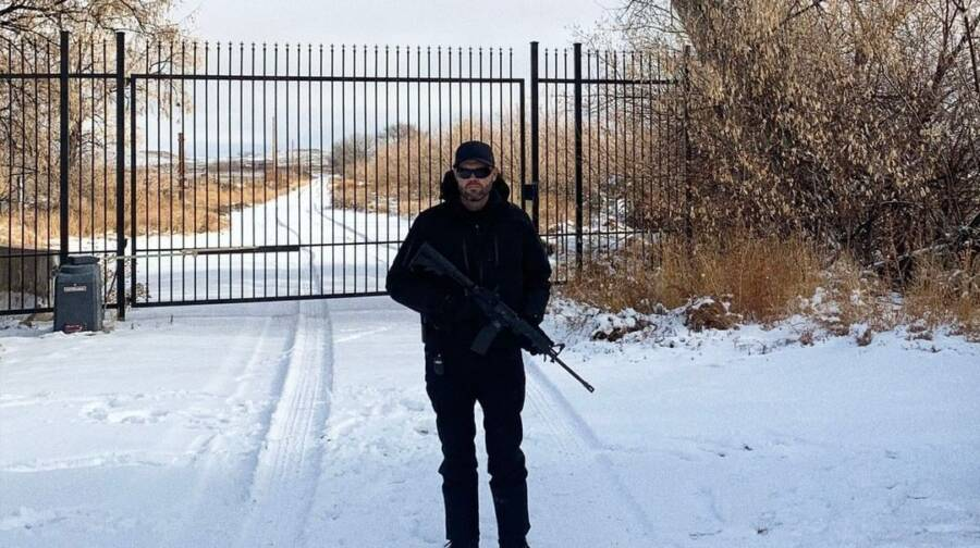 Armed Guard At Skinwalker Ranch