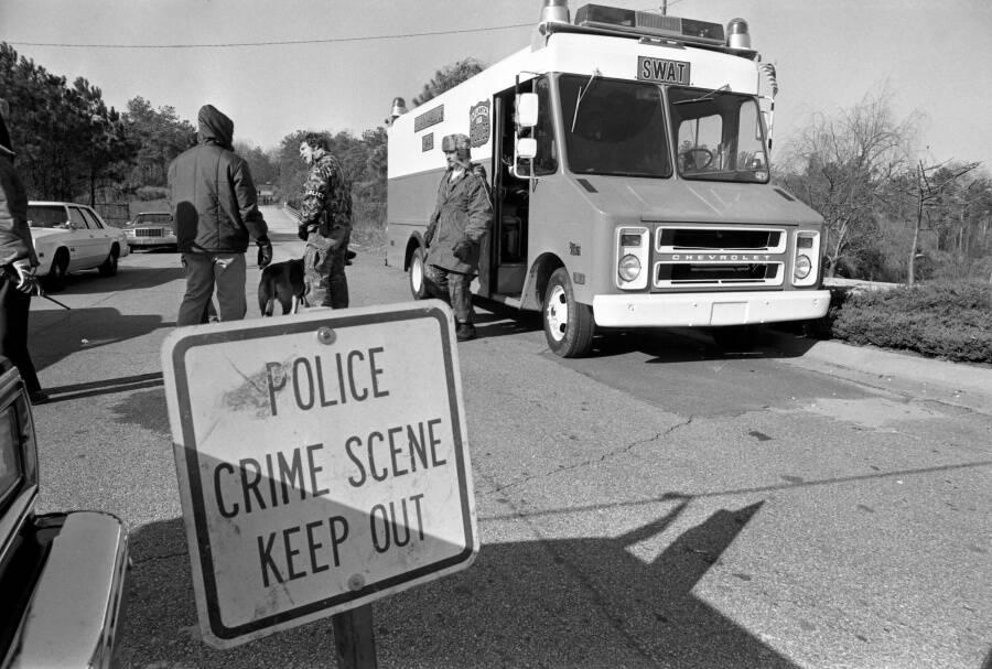 Atlanta Murders Crime Scene