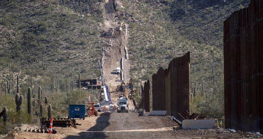 Sacred Native American Burial Ground Blown Up To Make Way For U.S.-Mexico Border Wall