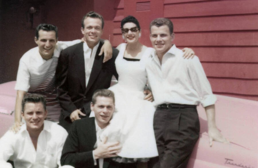 Scotty Bowers With His Friends